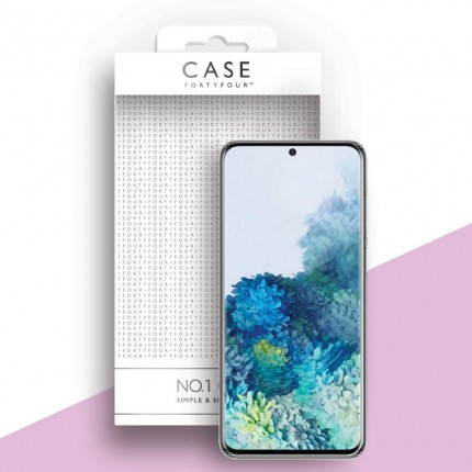 Case 44 No.1 TPU mobiiliümbris Samsung Galaxy S20 , läbipaistev