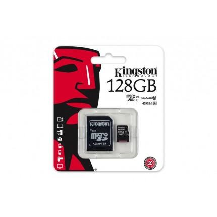 Kingston 128GB MicroSDXC Class10 mälukaart