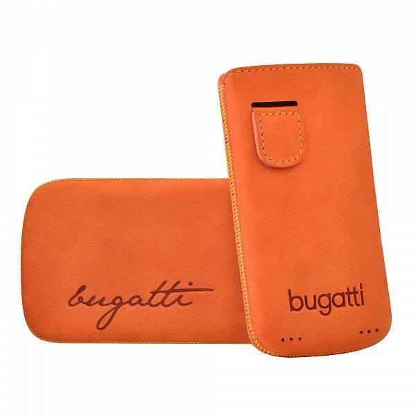 f6dbf3efa68 Bugatti mobiilikott Perfect Velvety mandarin Apple iPhone 4/4S'le