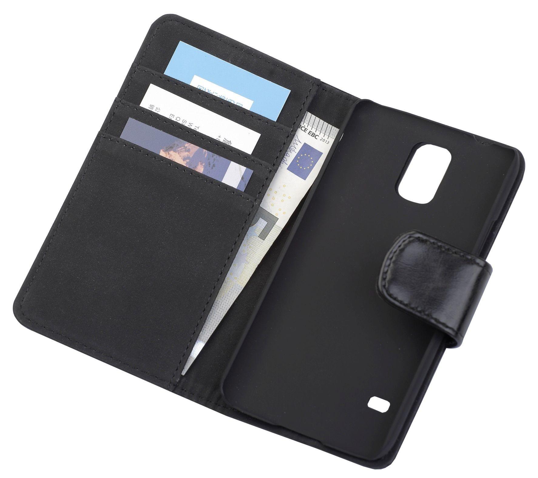 a4d93b0fd32 ... Book stiilis mobiilikott Samsung G800F Galaxy S5 mini-le, must. pilt on  illustratiivne