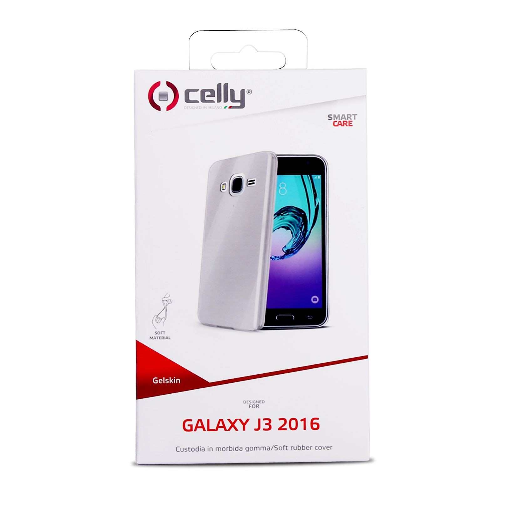 e14524b2084 Celly Gelskin tagumine ümbris Samsung Galaxy J3 (2016), läbipaistev