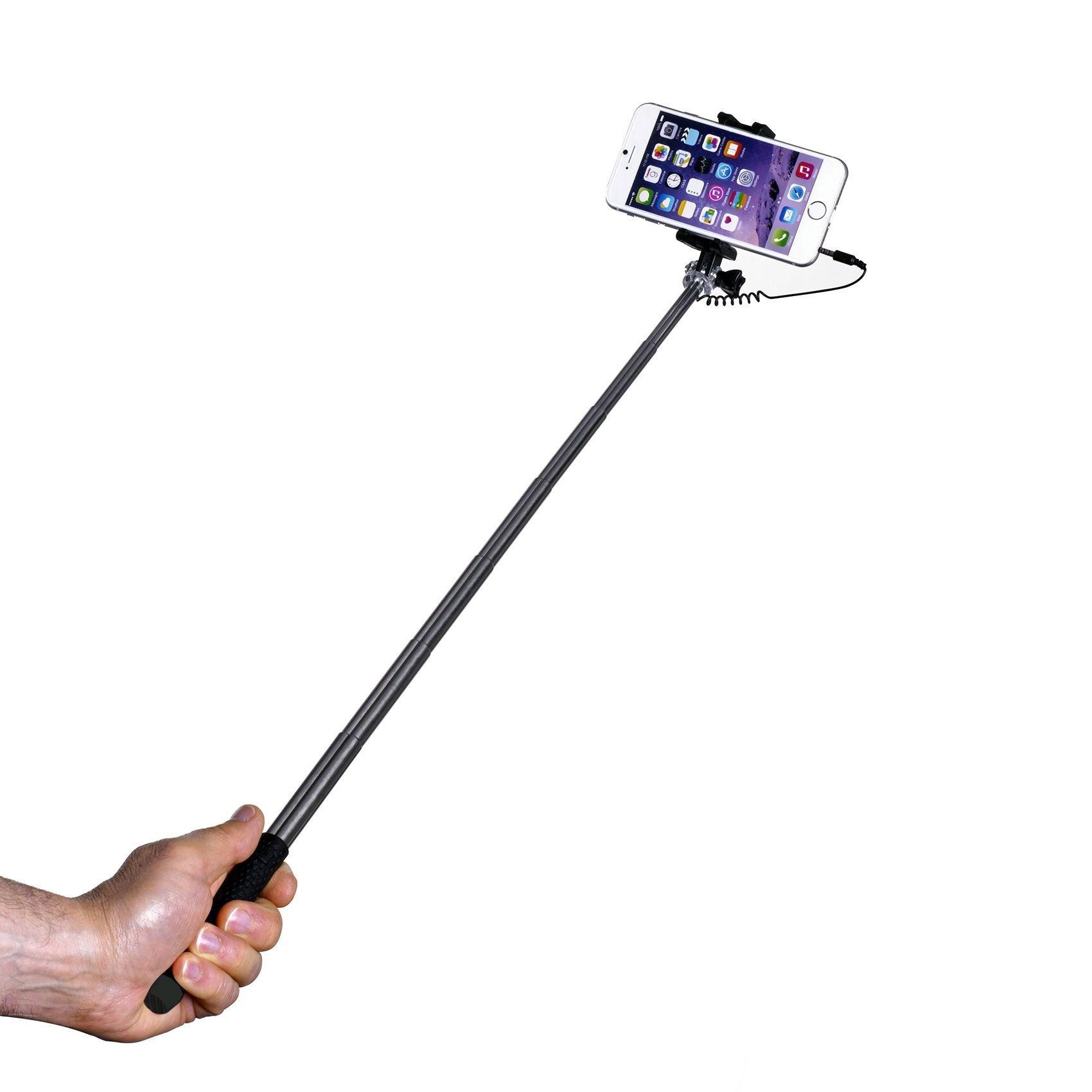 telemark hulgi celly selfie stick mini 3 5mm juhtmega. Black Bedroom Furniture Sets. Home Design Ideas