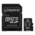 Kingston Canvas Select Plus 16GB microSD Class10 mälukaart