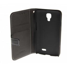 Insmat book-stiilis mobiilikott LG F70le, must