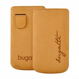 Bugatti mobiilikott Perfect Velvety honey Apple iPhone 4/4S'le