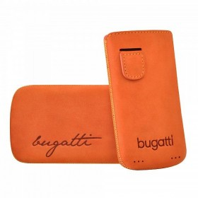 Bugatti mobiilikott Perfect Velvety mandarin Apple iPhone 4/4S'le