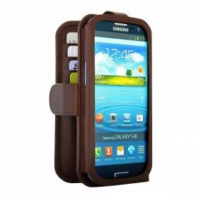 Bugatti Open BookCase mobiilikott Samsung Galaxy S3'le