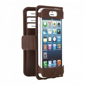 Bugatti Open BookCase mobiilikott Apple iPhone 5'le