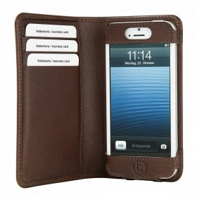Bugatti Smart BookCase mobiilikott Apple iPhone 5'le