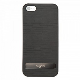 Bugatti ClipOnCover Premium Brick mobiiliümbris Apple iPhone 5'le , must