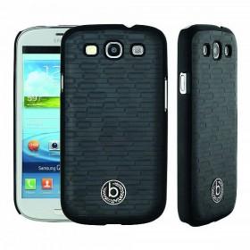 Bugatti ClipOnCover Premium Brick mobiiliümbris Samsung Galaxy S3'le , must