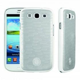 Bugatti ClipOnCover Premium Brick mobiiliümbris Samsung Galaxy S3'le , valge