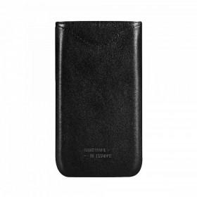 Bugatt SlimFit kott, Samsung Galaxy Note 2 N7100, must nahk,