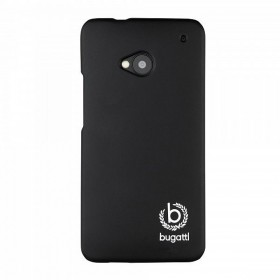 Bugatti ClipOnCover mobiiliümbris HTC One'le, must