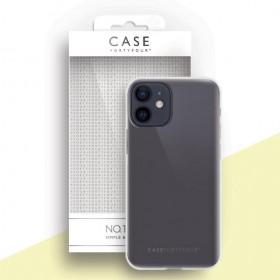 Case 44 No.1 TPU mobiiliümbris iPhone 12 Mini , läbipaistev