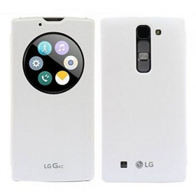 LG mobiilikott QuickWindow Circle Cover G4c, valge