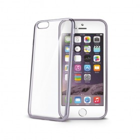 Celly Laser ümbris Apple iPhone 6 / 6S'le, läbipaistev hõbedane