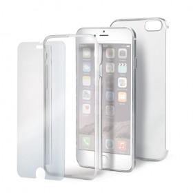 Celly Body360' kaitse iPhone 6 / 6S'le, läbipaistev