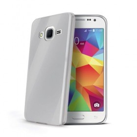 Celly Gelskin tagumine ümbris Samsung Core Prime, läbipaistev