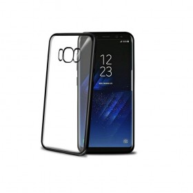 Celly Laser ümbris Samsung Galaxy S8'le, läbipaistev must
