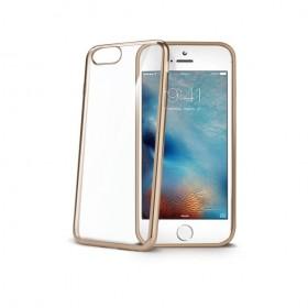 Celly Laser ümbris Apple iPhone 7 / 8'le, läbipaistev kuldne
