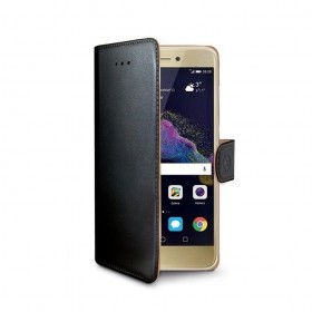 Celly Wally mobiiliümbris Huawei P9 Lite 2017'le, must