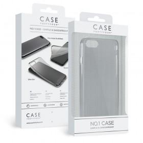 Case 44 No.1 TPU mobiiliümbris iPhone 8/7 , läbipaistev