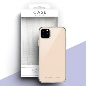 Case 44 No.1 TPU mobiiliümbris iPhone 11 Pro Max , läbipaistev