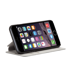 Case-Mate Stand Folio mobiiliümbris Apple iPhone 6'le, must