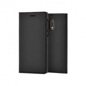 Originaal Nokia 5 Slim Flip ümbris, must