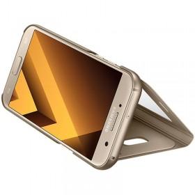 Samsung Galaxy A5-2017 mobiilitikott S-View Standing Cover, kuldne
