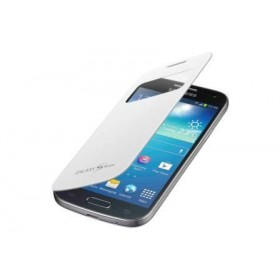 Samsung Galaxy S4 mini mobiilitikott S-View Cover, valge