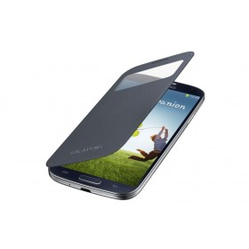 Samsung Galaxy S4 mobiilitikott S-View Cover, must