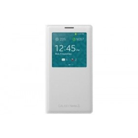 Samsung Galaxy Note 3 mobiilitikott S-View Cover, valge