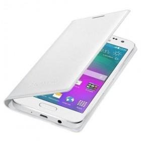 Samsung Galaxy A3 ümbris Flip Wallet Cover, valge