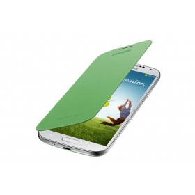 Samsung Galaxy S4 mobiilitikott Flip Cover, roheline