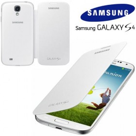 Samsung Galaxy S4 mobiilitikott Flip Cover, valge