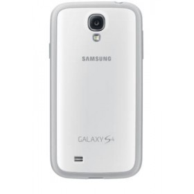 Samsung Galaxy S4 mobiilitikott Protective Cover+, valge