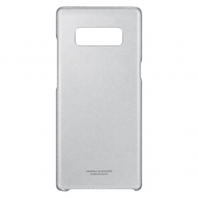 Samsung Galaxy Note 8 Clear Cover telefonikate, läbipaistev (must raam)