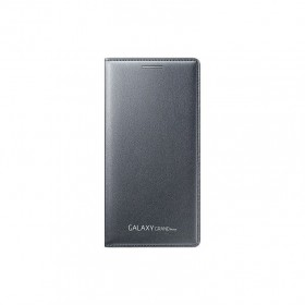 Samsung Galaxy Grand Prime ümbris Flip Wallet Cover, tume hall