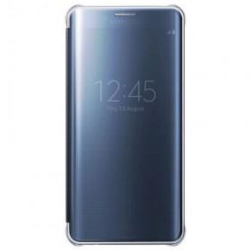 Samsung Galaxy S6 Edge+ mobiilitikott Clear View Cover, sinine