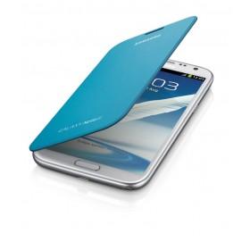 Samsung Galaxy Note 2 mobiilitikott Flip Cover, sinine
