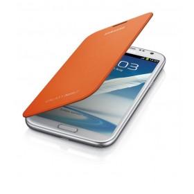 Samsung Galaxy Note 2 mobiilitikott Flip Cover, oranz
