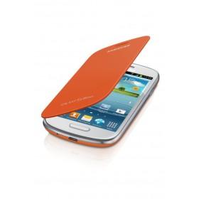 Samsung Galaxy S3 mini mobiilitikott Flip Cover, oranz