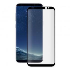 Eiger 3D Fullscreen Glass - 9H kaitseklaas servast servani, Samsung Galaxy S8'le , musta äärega