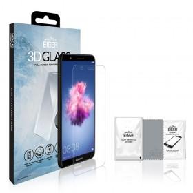 Eiger 3D Fullscreen Glass - 9H kaitseklaas servast servani, Huawei P Smart'le, läbipaistev
