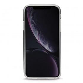 Case 44 No.1 TPU mobiiliümbris iPhone XR , läbipaistev