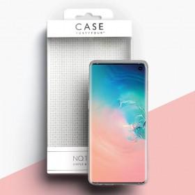 Case 44 No.1 TPU mobiiliümbris Samsung Galaxy J4+ , läbipaistev