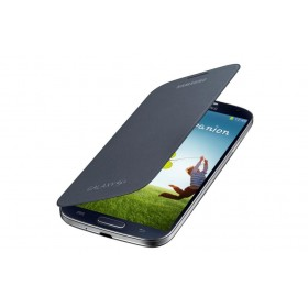 Samsung Galaxy S4 mobiilitikott Flip Cover, must