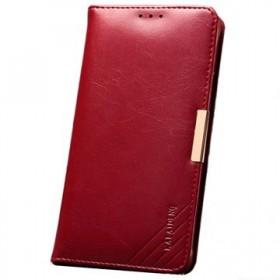 Kalaideng Royale mobiilikott Samsung Galaxy Note 4'le, punane